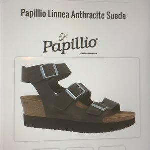 Birkenstock Papillio Linnea Suede 3 Strap Sandals